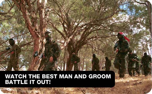 Watch the Best Man and Groom Battle it out!